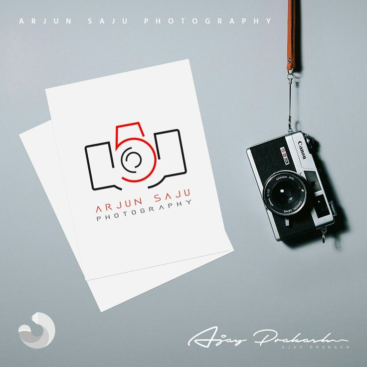 Arjun Saju Photography logo.  Camera with letters A, S, P.