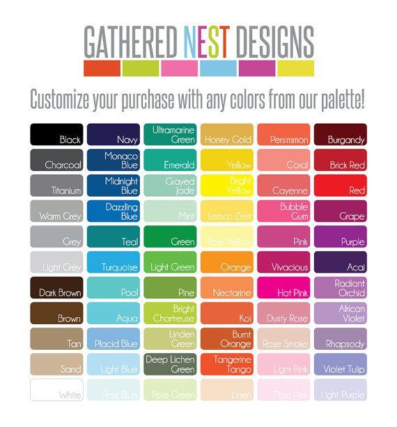 Custom Color Block Throw Pillow & by GatheredNestDesigns on Etsy