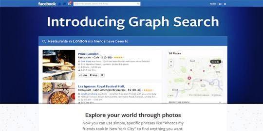 Facebook Graph Search: Produk Terbaru Dari Facebook