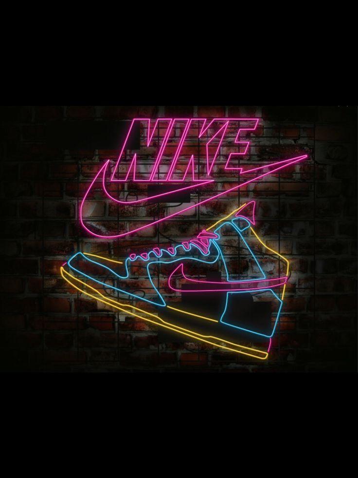 NeOn NiKeS Neon signs, Nike neon, Nike signs