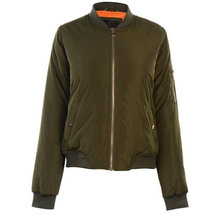 Golddigga Bomber Jacket Ladies | Womens Jackets and Coats