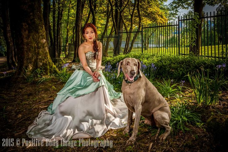 Princess with her dog by Ira Rotenberg