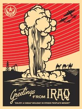 Greetings from Iraq | Shepard Fairey | 2005