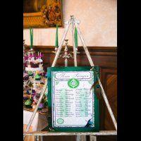 павлинья свадьба, план рассадки гостей