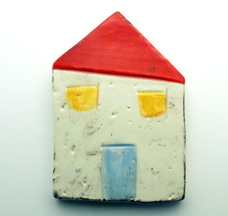 ΧΕΙΡΟΠΛΑΘΙ - Limnos  Handmade Ceramic Magnet House