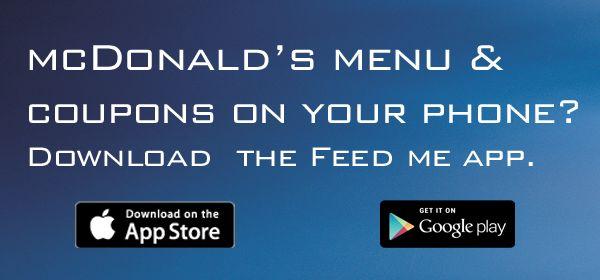 McDonalds Menu Prices UK - Price List 2015