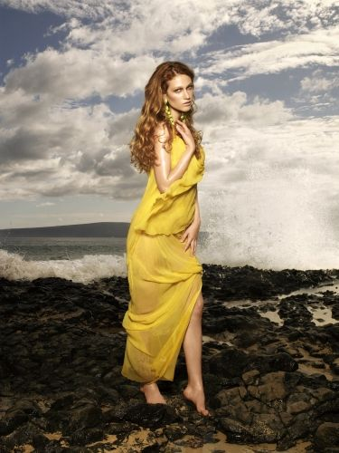 Nicole Fox ANTM America's Next Top Model Red Hair