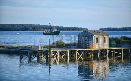 Lobster Fishing Village Stock Photos Images. Royalty Free Lobster ...