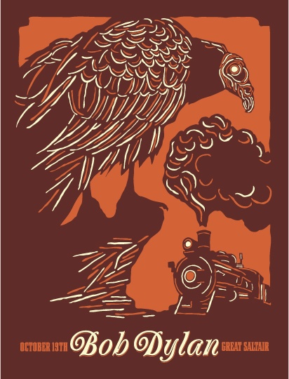 travis bone's concert posters are amazing -- gorgeous prints, anywhere from $20-$30. you can see a list of artists whose concerts he's drawn for, here: www.furturtle.com...