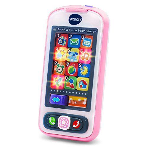 well of course babies need an Iphone too; my grandson loved the one he got (not pink)