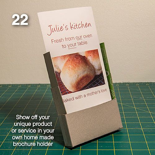 1000 images about box on pinterest bakeries cupcake for Cardboard brochure holder template