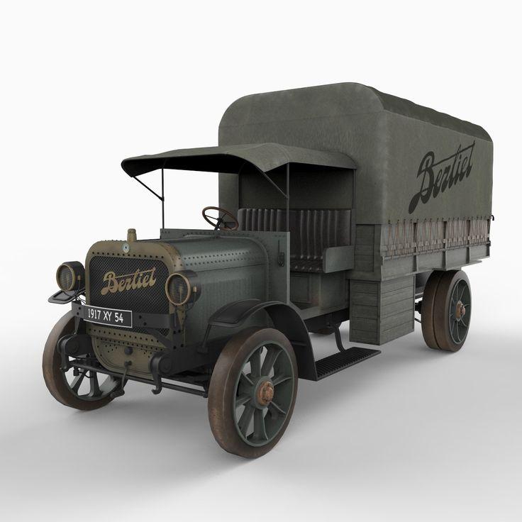 maya french army vehicle berliet