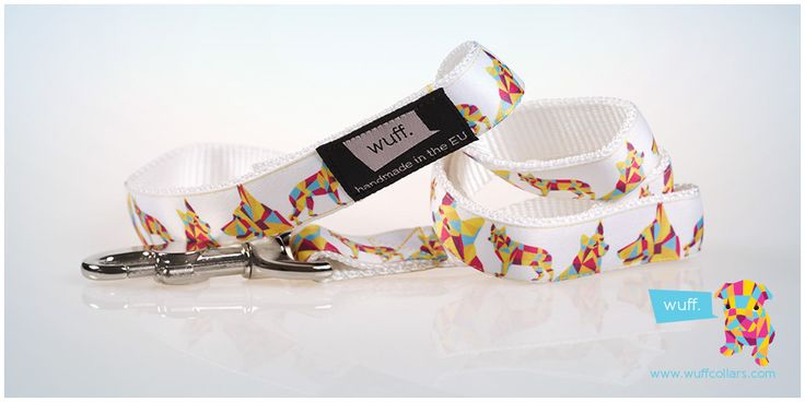 German Shepherd Dog Leash White Not even working dogs have to work every day, the WUFF leash looks great on your off-duty German Shepherd. http://www.wuffcollars.com/en/item/German_Shepherd_Leash-117 Item Code: 117