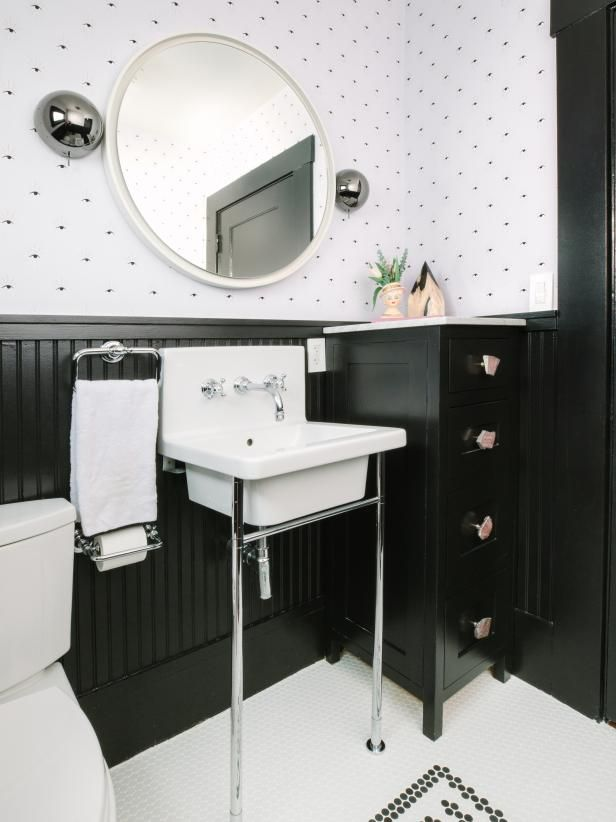 30 Half Bathroom and Powder Room Ideas You'll Want to ...
