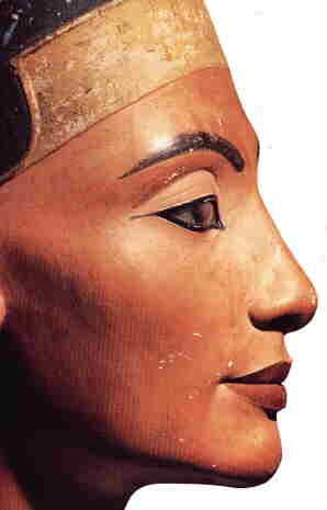 Probably the most notorious, megalomaniac queen ever to have ruled the Two Lands. Neferuneferaten Nefertiti. She was one of the most beautiful, to be sure. However, she did not have nearly the amount of royal power or reverence that her mother-in-law, Tiye enjoyed.