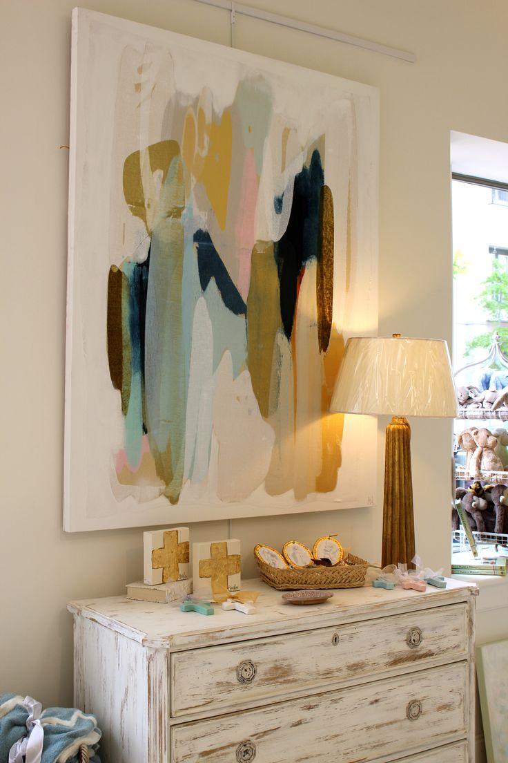 Modern wall art interior decor/Artist Lynn Sanders & 122 best abstract wall art images on Pinterest | Water colors ...