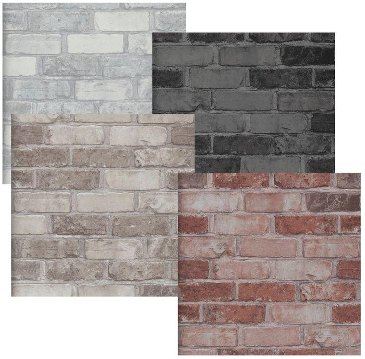 die besten 25 steintapete ideen auf pinterest moderne b cker regale panel bett und brick in. Black Bedroom Furniture Sets. Home Design Ideas