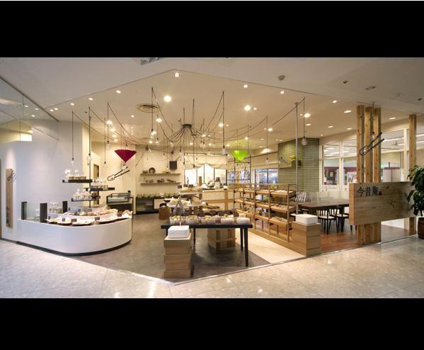 Cafe design, bakery and coffee shop interior design