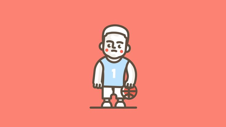 Five tips to play in the NBA. We have created some characters inspired by  NBA players.
