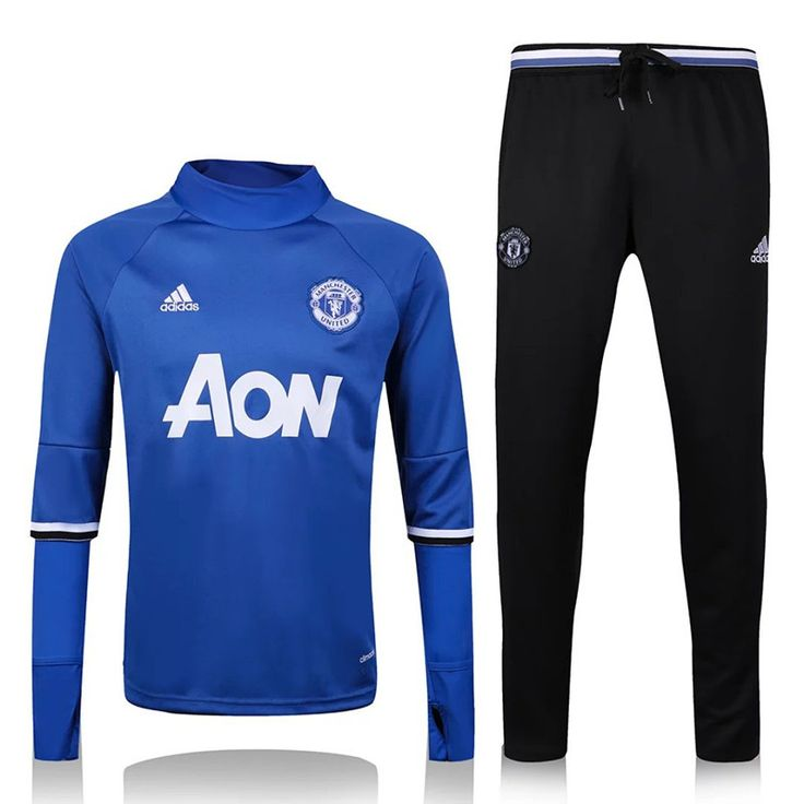 Training de football Manchester United extérieur bleu Saison 2016/2017
