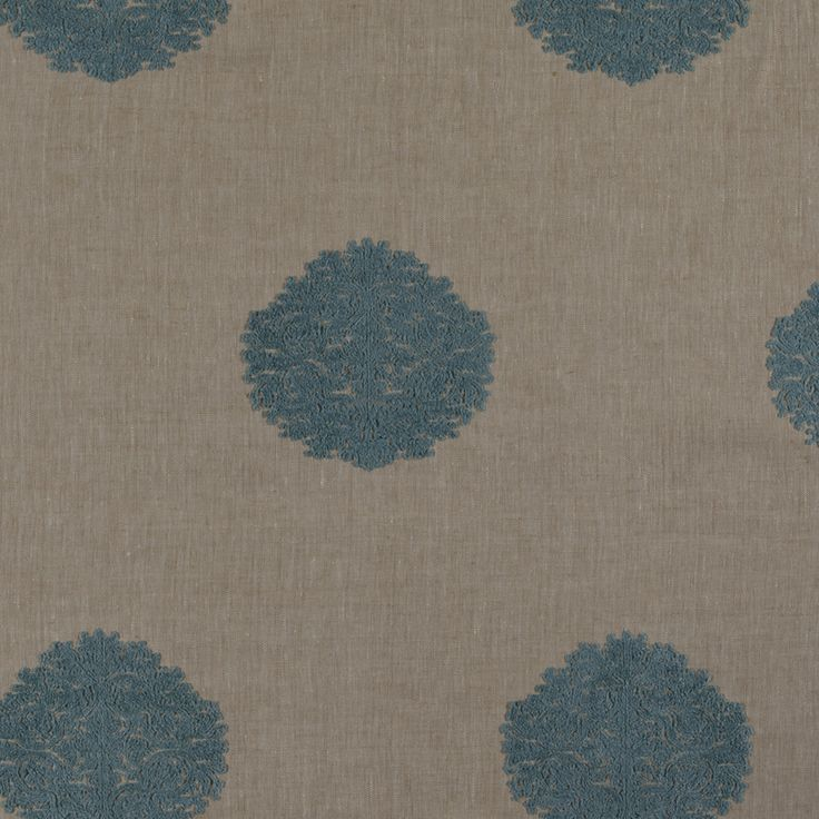 Albert - Aqua fabric, from the Guyana collection by Marvic