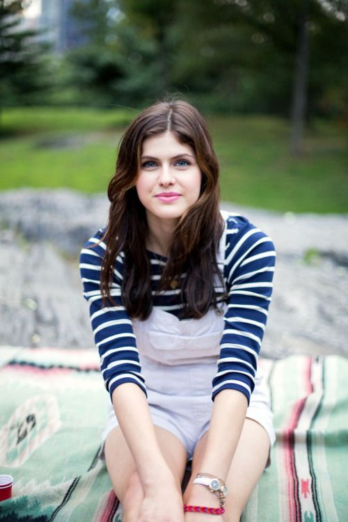 Alexandra Daddario - 'Unreachable by Conventional Means' Promo stills