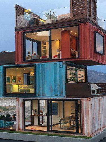 Container Container Architektur Casa De Madrid Ein Wohnsitz