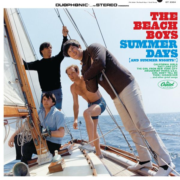 "The Beach Boys - Summer Days [And Summer Nights!!] (June 28th, 1965): The last ""fun in the sun"" hurrah from the band before Brian Wilson's urge for musical growth and maturation. Fun album that comes with some good tunes including the famous ""California Girls"" single."