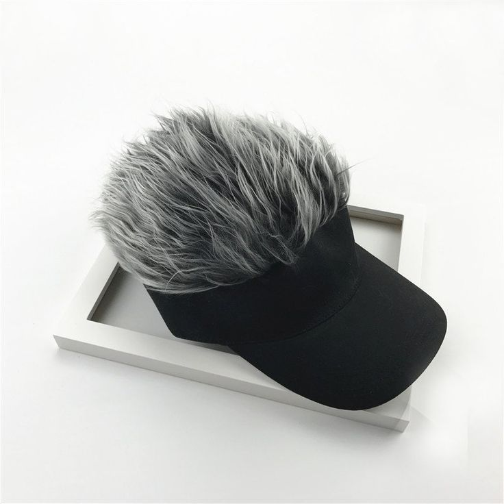 Visor Funny Hat with Spiked Hair Joke //Price: $12.88 & FREE Shipping //     #gifts