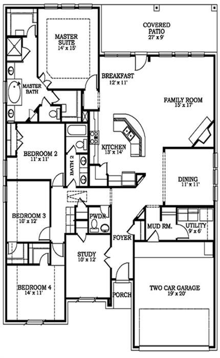 Lennar Homes Vista Collection Quot Hilltop Quot Floor Plan Single