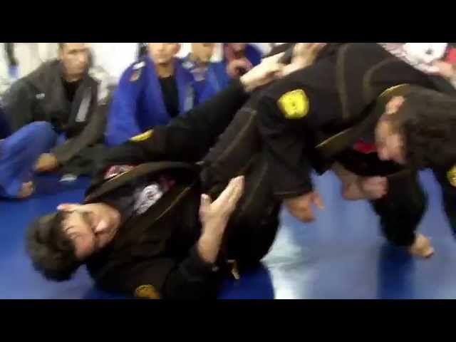 This week Master Ricardo Cavalcanti shows how to defend against 50/50 guard using a sweep to take your opponents back.��_