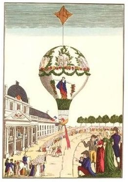 Going to watch a hot air balloon!: