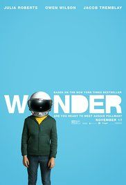 : Drama Stars : Jacob Tremblay, Julia Roberts, Owen Wilson, Daveed Diggs, Mandy Patinkin, Izabela Vidovic Runtime : 0 min.  Wonder Official Teaser Trailer #1 () - Jacob Tremblay Lionsgate Movie HD  Movie Synopsis: A young boy born with a facial deformity is destinied to fit in at a new school, and to make everyone happen to understand he's just another ordinary kid, and that beauty isn't skin deep.