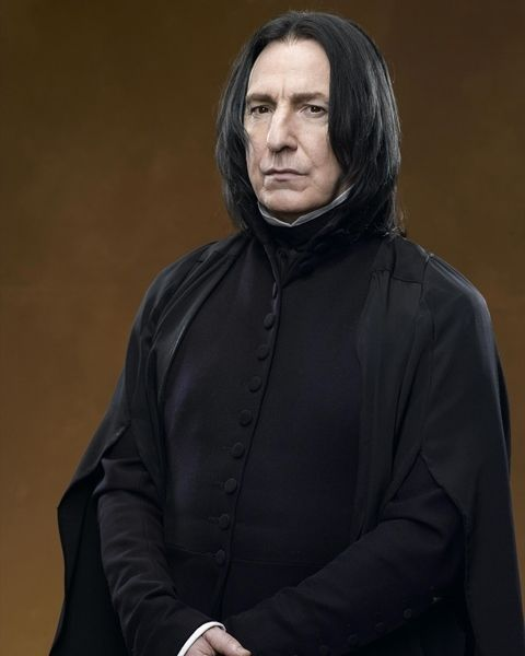 SEVERUS SNAPE actor ALAN RICKMAN 1 new rare photo 8x10 inches  picture PIC #633