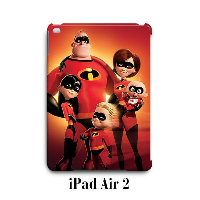 The Incredibles Super Hero Marvel iPad Air 2 Case Cover Wrap Around