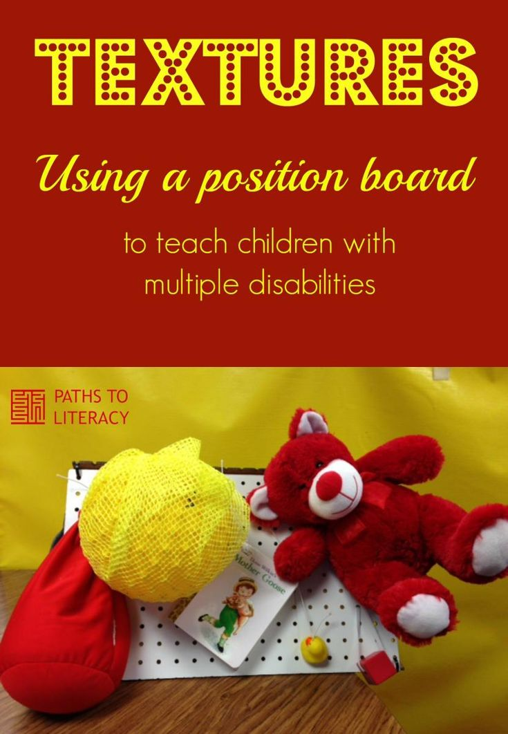 Teach students with multiple disabilities about textures using this activity.
