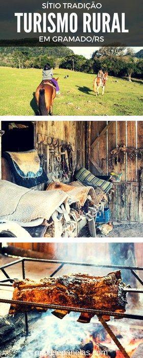 Sítio Tradição - Turismo Rural e passeios a cavalo em Gramado   Malas e Panelas