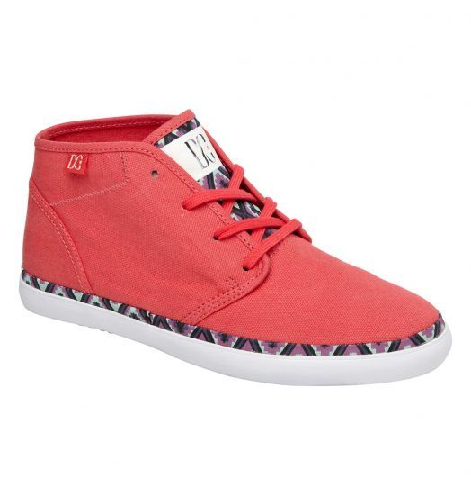 DC SHOES WOMENS GIRLS STUDIO MID LTZ CASUAL SNEAKERS SKATE RED #DCShoes  #SkateboardShoes #