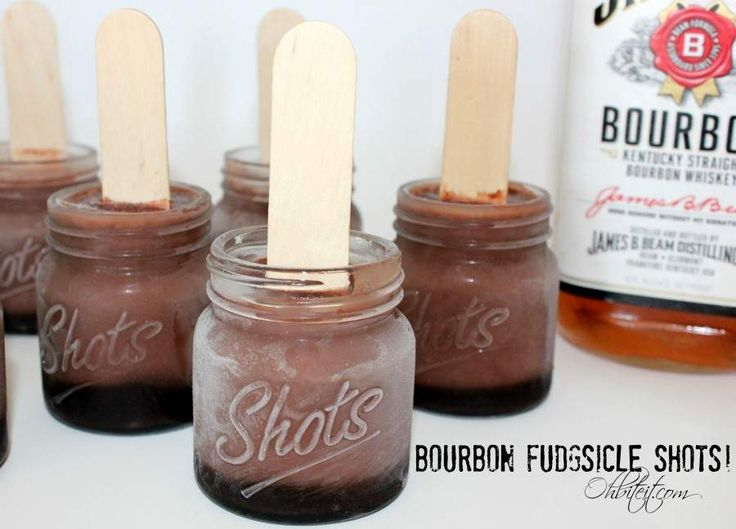 Bourbon fudgsicles combine America's love of shots, chocolate, and puddin' pops