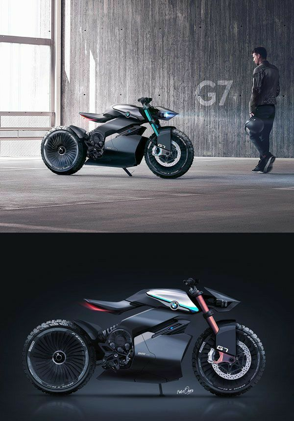 Deku New Life Form Bmw Electric Motorcycle Design Electric Motorcycle