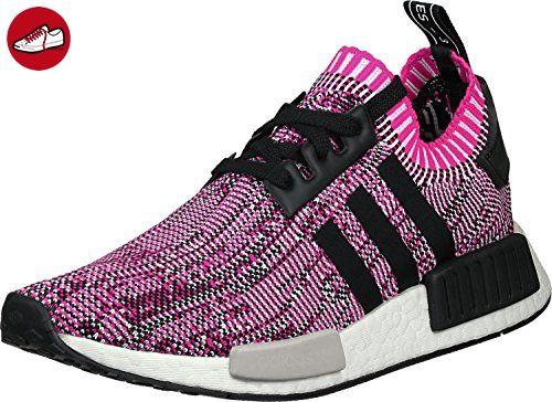 adidas Damen Schuhe / Sneaker NMD R1 Primeknit pink 42 2/3 - Adidas schuhe (*Partner-Link)