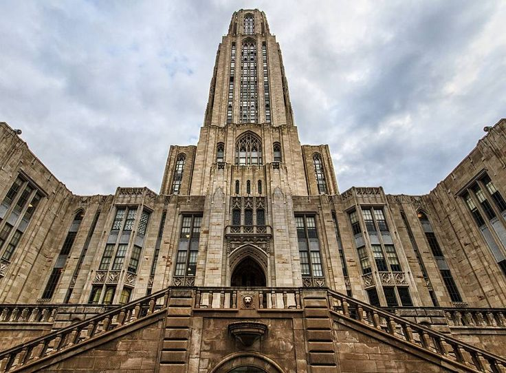 30 Photos of Pittsburgh That Will Make You Homesick - Wouldn't you rather stick around, or head to Pitt's campus for class at the Cathedral of Learning, University of Pittsburgh?