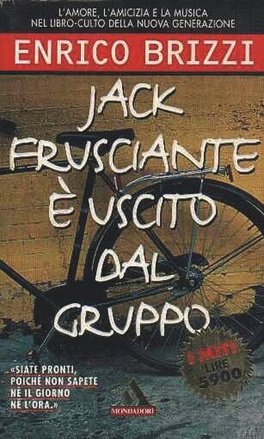 Enrico Brizzi, Jack Frusciante è uscito dal gruppo - I 10 libri da leggere assolutamente - Foto Gallery Studenti.it