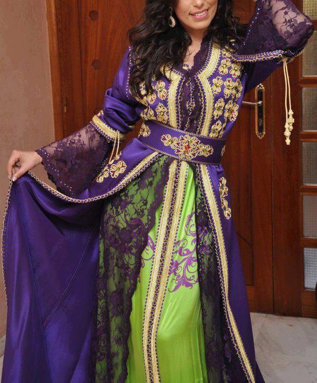 hijab fashion | hijab mode - caftan 2013 ~ Hijab et voile mode style mariage et ...