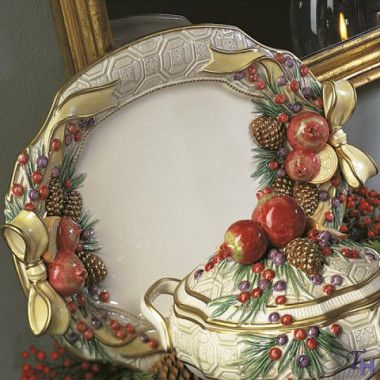 Winter Spice Large Platter by Fitz and Floyd & 20 best Fitz and Floyd images by DarlaC on Pinterest | Christmas ...