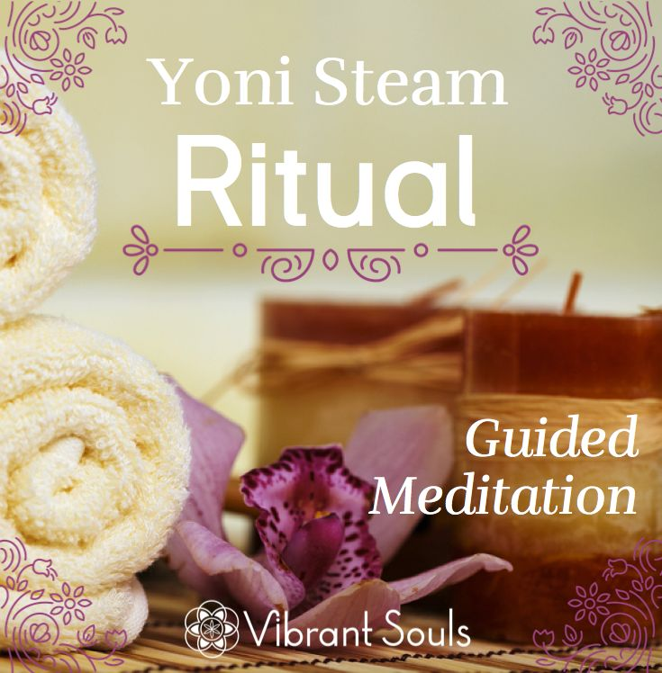 Connect with yourself as the radiant goddess you are!  Enliven your wellness, reconnect with your purpose and cultivate your  capacity for success with this Yoni Steam Ritual Guided Meditation.  Intended to accompany your yoni steam, this 30 minute meditation will  invite you to deepen your aw