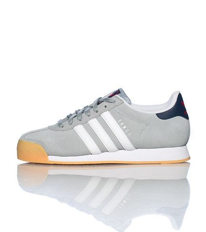 adidas Low top sneaker Lace up closure Suede throughout Signature adidas  stripes on sides Cushioned inner