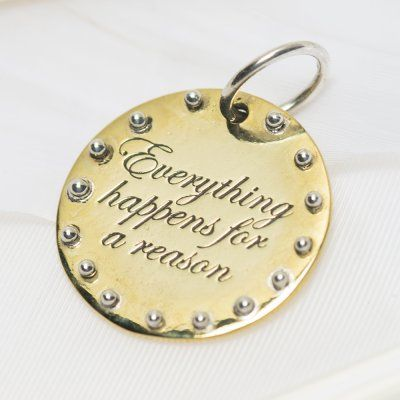 For a reason charm #3220 > RRP $AUD28.60 #palasjewellery #charms #empower #inspire #dreambig #sparklemore #love #lovepalas
