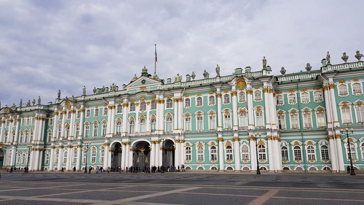 Best of St. Petersbug - Eremitage Winterpalast