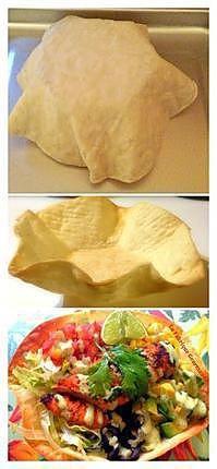 recette Taco Salade au Poulet et sa vinaigrette crémeuse à l'avocat-coriandre